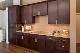 stylish kitchen cabinets on shaker espresso style corona