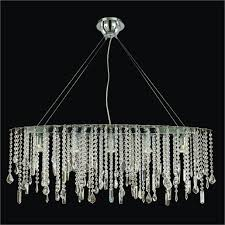 creative home design glamorous oval crystal chandelier crystal drop chandelier divine ice 577 in astounding