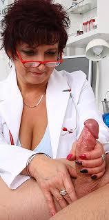 Huge Tits Uniform Cougar Greta Medical Wank Job In Hospital