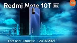 Xiaomi Redmi Note 10T 5G India launch ...