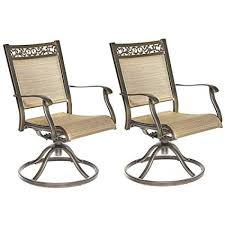 dali swivel rocker chair cast aluminum all weather fort club arm patio dining chair 2
