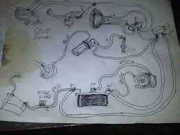 ras moto simplified wiring schematic for the 350 250 ss harley sprint simplified wiring schematic for the 350 250 ss harley sprint