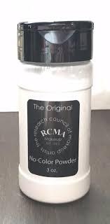 new rcma no color powder 3oz face cosmetic loose powder shaker 1 of 3 see more