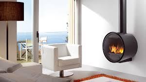 Rocal D7 wall mounted wood burning stove ...