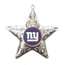 New York Giants Weihnachtsbaum Deko Silver Star