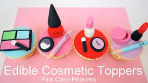 edible makeup cake toppers how to make cosmetics cake toppers by pink cake princess you