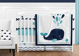 white whale nautical ocean baby boys