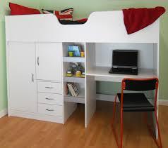 cambridge high sleeper cabin childrens wardrobe storage chest of drawers bookcase desk shelving m2430