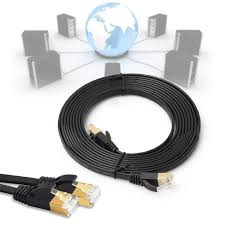 compare prices on ethernet cat online shopping buy low price high speed 5m cat7 flat ethernet rj45 gold plated shielded 600mhz patch lan network cable cord