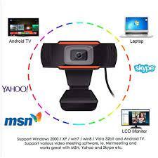 Mikrofonlu Webcam Bilgisayar Kamerası Tak Çalıştır HD webcam 720p 1303