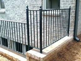full size of wrought iron staircase outdoor baers deck rod stair railing exterior railings step handrail