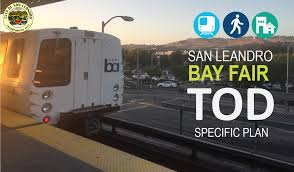 on february 20 2018 the san leandro city council adopted the bay fair transit oriented development tod specific plan plan which underwent a broad