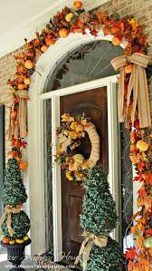 fall front door decorations7 Front Door Decorating Ideas for instant Fall Curb Appeal