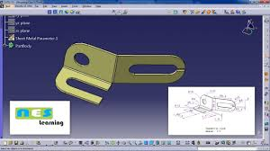 Catia Aircraft Design Tutorial Pdf Catia V5 V6 Tutorial Sheet Metal Design And Manufacturing