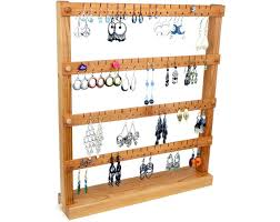 earring holder stand a36 72 cherry