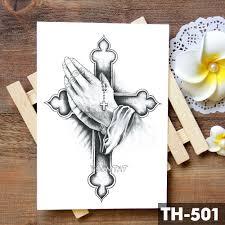 череп с короной косой смерти водонепроницаемый временные татуировки стикеры