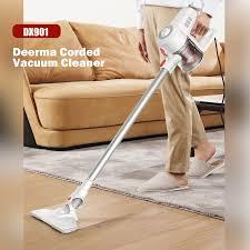 DEERMA DX901 Đứng Máy Hút Bụi Cầm Tay Có Dây 2 Trong 1 Công Suất Lớn Mạnh  Mẽ Hút Vệ Sinh Máy chổi quét nhà Hút|Vacuum Cleaners