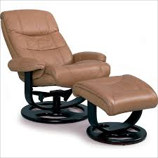 Rebel Leather Recliner and Ottoman By Lane Furniture