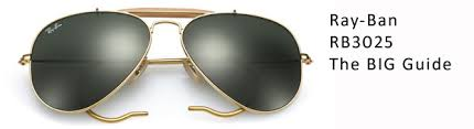 Ray Ban Aviator 3025 Size Chart Ray Ban Rb3025 Aviator Sunglasses Guide Size Guide