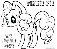 Pony Coloring Page Coloring Pages Of Pinkie Pie Pinkie Pie Pony