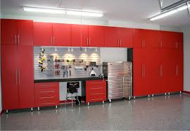 red cabinets signature series powder coated garage plans