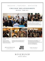 rosewood hotel group careers employment linkedin a sense of achievement development opportunities