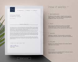 resume cover letter template word eps ai and psd format a4 and us letter resume and cover letter template