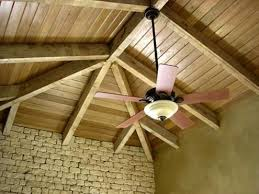 how to install a ceiling fan rod