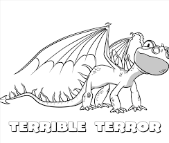 Briliant How To Train Your Dragon Coloring Pages Skrill 12 Razorwhip