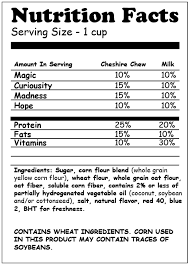cereal box nutrition facts. Perfect Nutrition Nutrition Facts For Cereal Box Nutrition Facts R