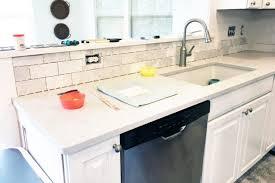 DIY  How To Install A Marble Subway Tile Backsplash, Tiling Tips, Subway  Tile