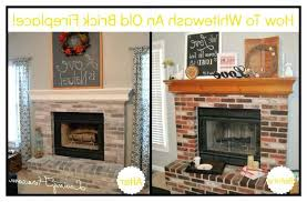 painted brick fireplace painted brick fireplace farmhouse inspiration chalk paint fireplaces