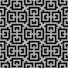 東洋銀卍飾りからシームレスな背景はおしゃれなモダンな壁紙やテキスタイル