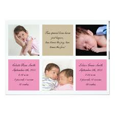 twin birth announcements photo cards twins birth announcement girls twin birth announcements birth