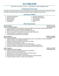 administrative assistant skills summary professional resume administrative assistant skills summary administrative assistant skills resume example grants administrative assistant resume example my perfect