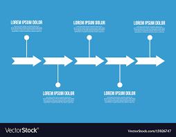 Arrow Chart Arrow Chart Business Infogaraphic Design