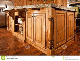 Kitchen Center Modern Home Kitchen Center Island Countertop Royalty Free Stock