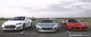 Ludicrous & LaFerrari Power Is Not Enough For The Rimac Concept One