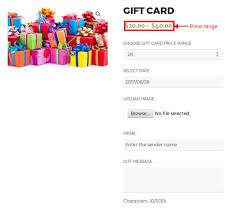 woomerce ultimate gift card
