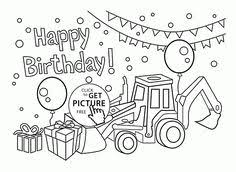 Small Picture 6th Birthday Card coloring page for kids holiday coloring pages