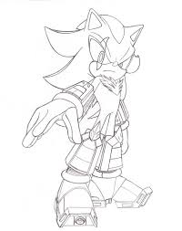 Color Shadow The Hedgehog Free Coloring Pages On Art Coloring Pages