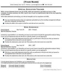 special education teacher resume best resume template special education teacher job description special education teacher sample resume