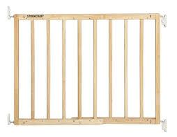 Babydan Designer Wood And Metal Gate Easy Walk Thru Wooden Safety Gate The Storkcraft Easy Walk