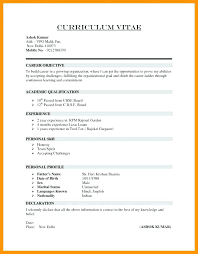 How To Write Curriculum Vitae Adorable Curriculum Vitae Resume Format Dewdrops