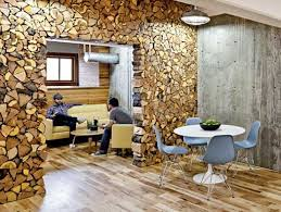 modern rustic office. via design_sponge the rustic modern office interiors of design firm parliament in portland oregon w