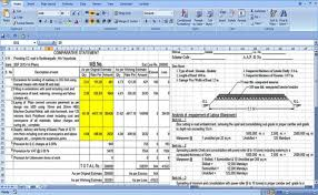Home Construction Estimator Excel Download Excel Sheet To Estimate The Road Construction Costs