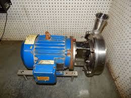 details about g h ghh 25 blue stainless steel centrifugal pump trim 3hp motor ghh25