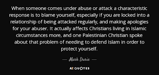 Quotes About Abuse Extraordinary Mark Durie Quote When Someone Comes Under Abuse Or Attack A