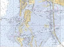 Noaa Chart 11416 Aedan Janelle Captain Segull S Nautical