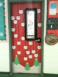 classroom door. Christmas Ornaments Classroom Door